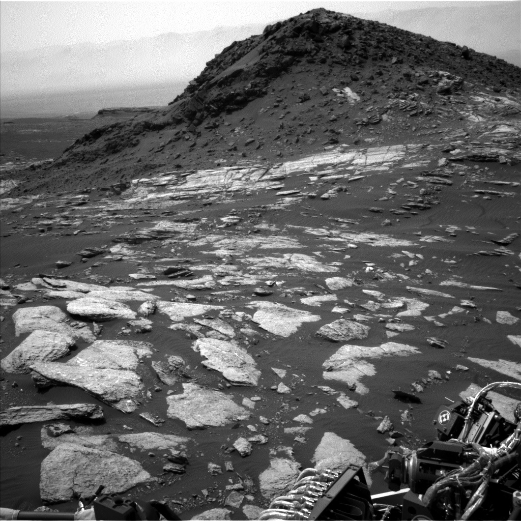 Navcam view of Ireson Hill