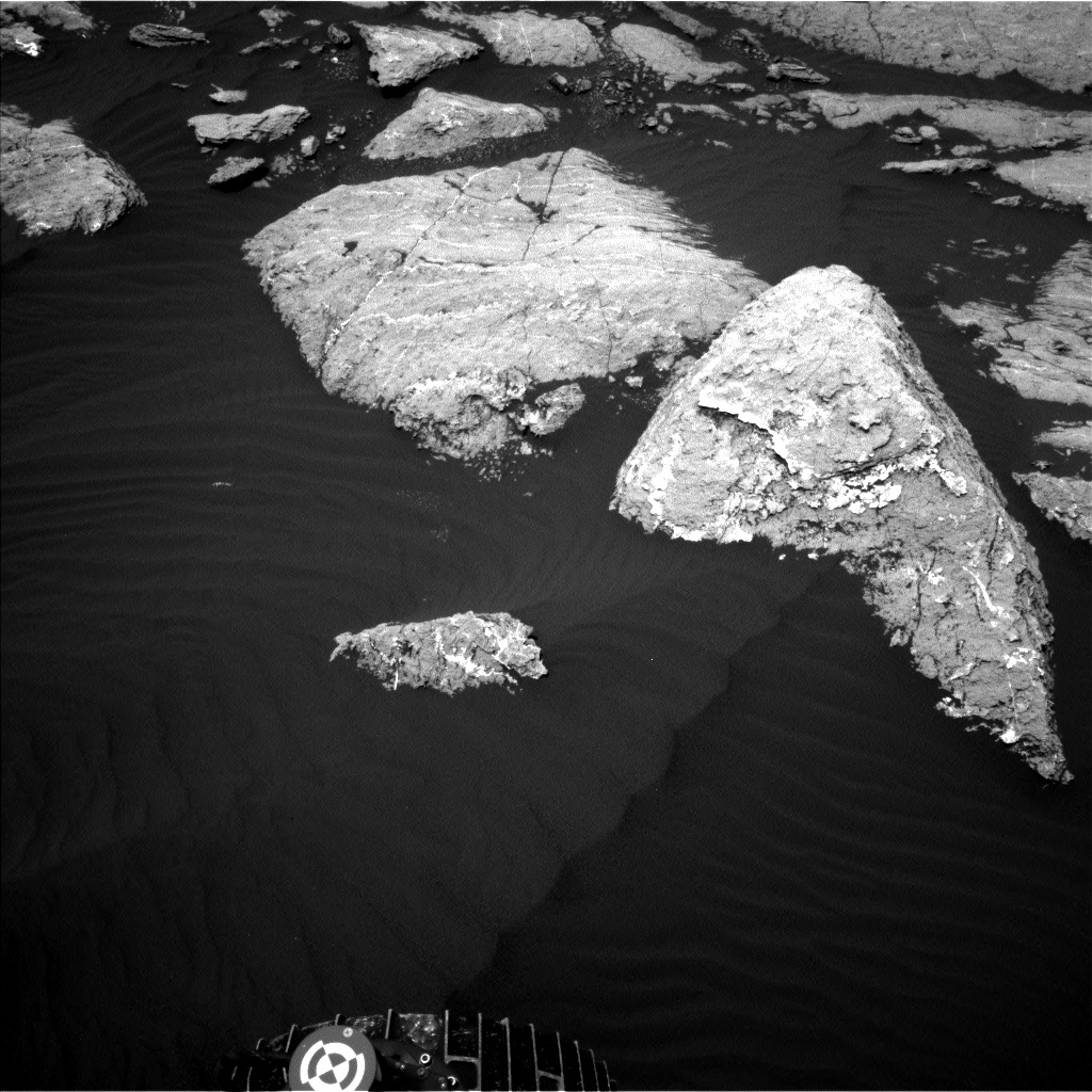 Navcam view of the foreground