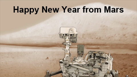 see the image 'From Mars Curiosity to Times Square: Happy New Year'