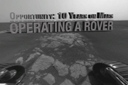 Watch Opportunity: 10 Years on Mars - Operating a Rover