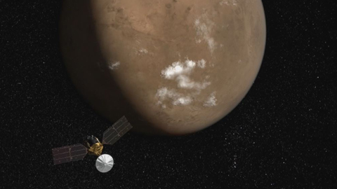 see the image 'Magnificent Mars: 10 Years of Mars Reconnaissance Orbiter'