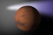 Watch Colliding Atmospheres: Mars vs Comet Siding Spring