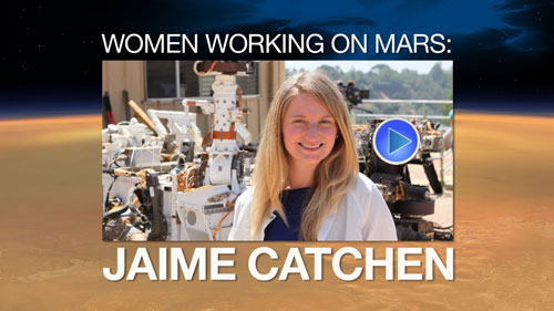Watch the video 'Woman Working on Mars: Jaime Catchen'