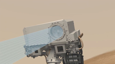 see the image 'ChemCam Field of View'