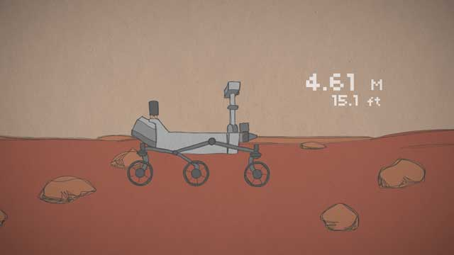 see the image 'Mars in a Minute: How Do Rovers Drive on Mars?'