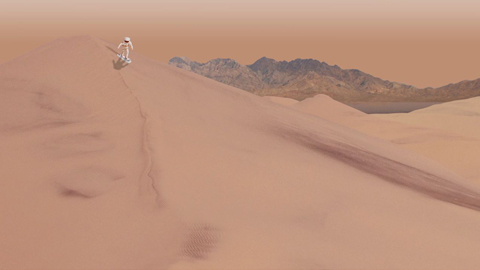 see the image 'Dry Ice Moves on Mars'