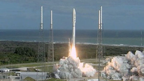 see the image 'Curiosity's Launch'