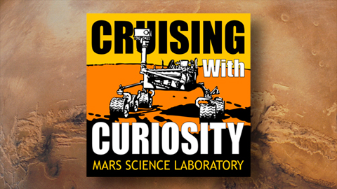 see the image 'Curiosity Rover Sampling System Scoop Test'