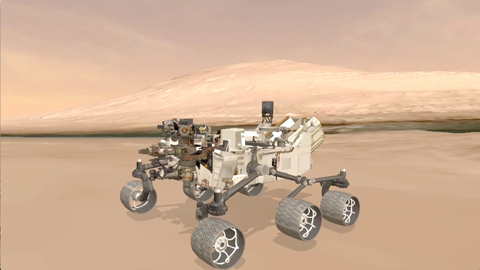 see the image 'Explore Mars With Curiosity'