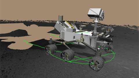 see the image 'Planning Curiosity's First Test Drive'