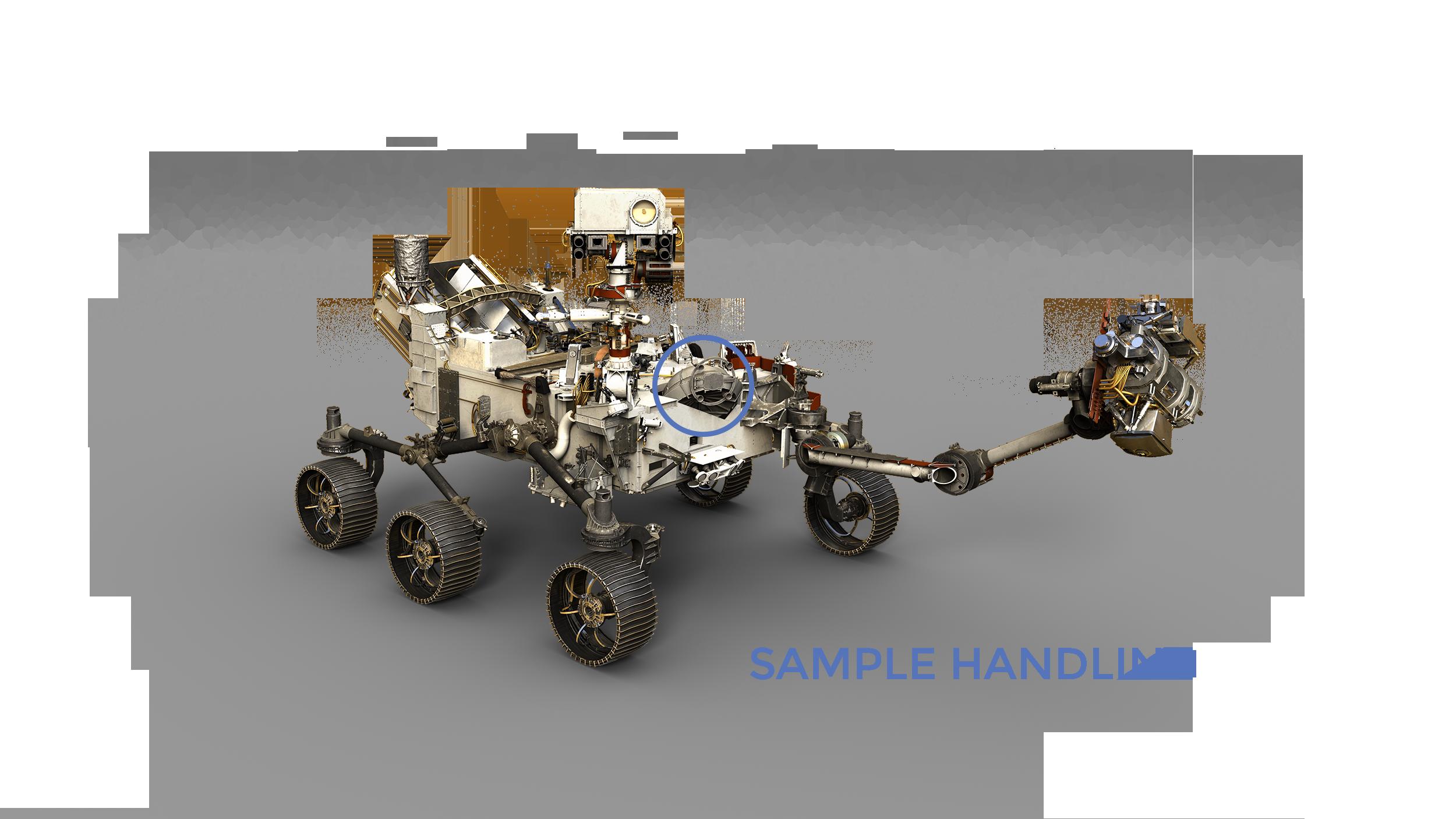 Mars 2020 Sample Handling