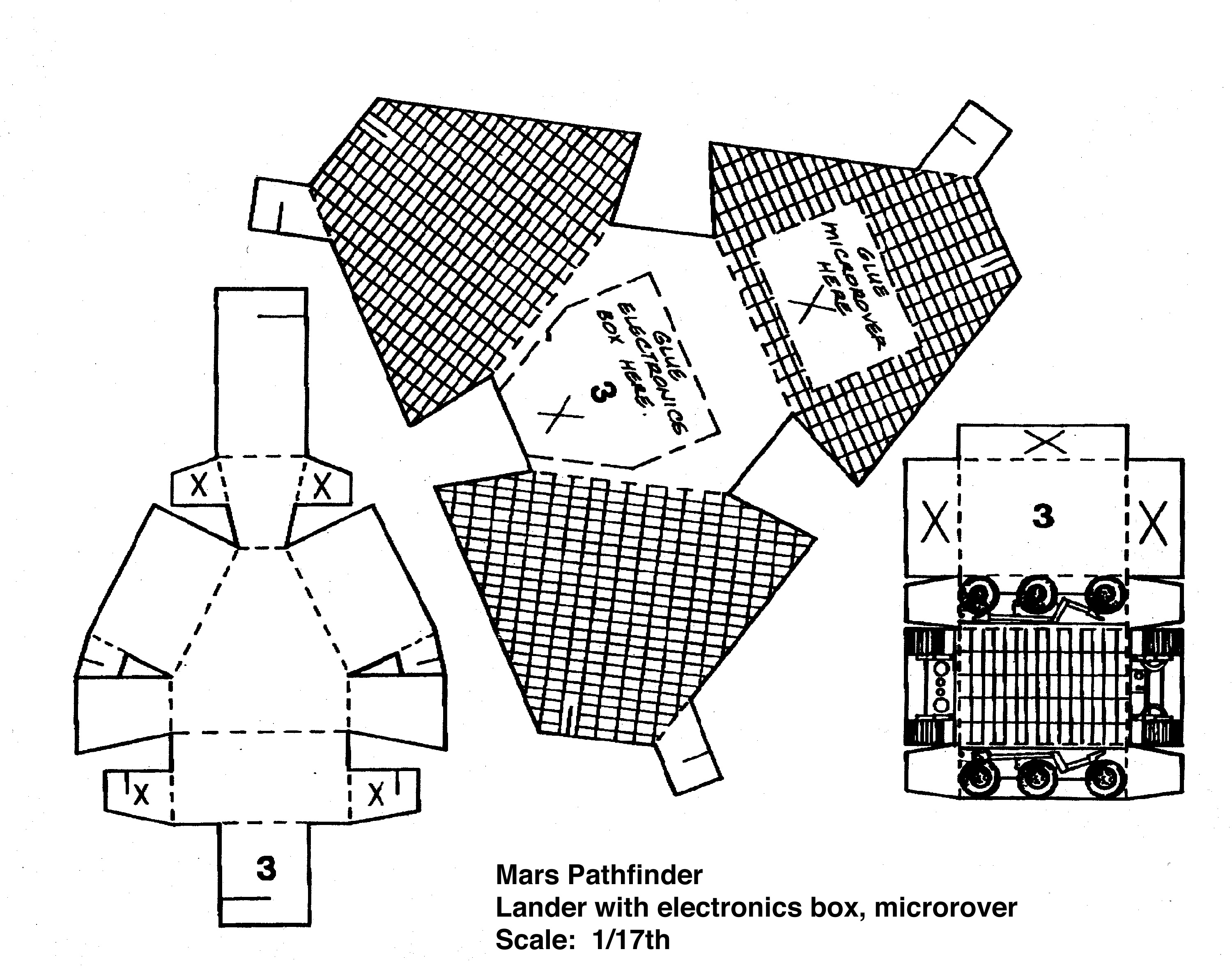 spacecraft paper models to build - photo #10