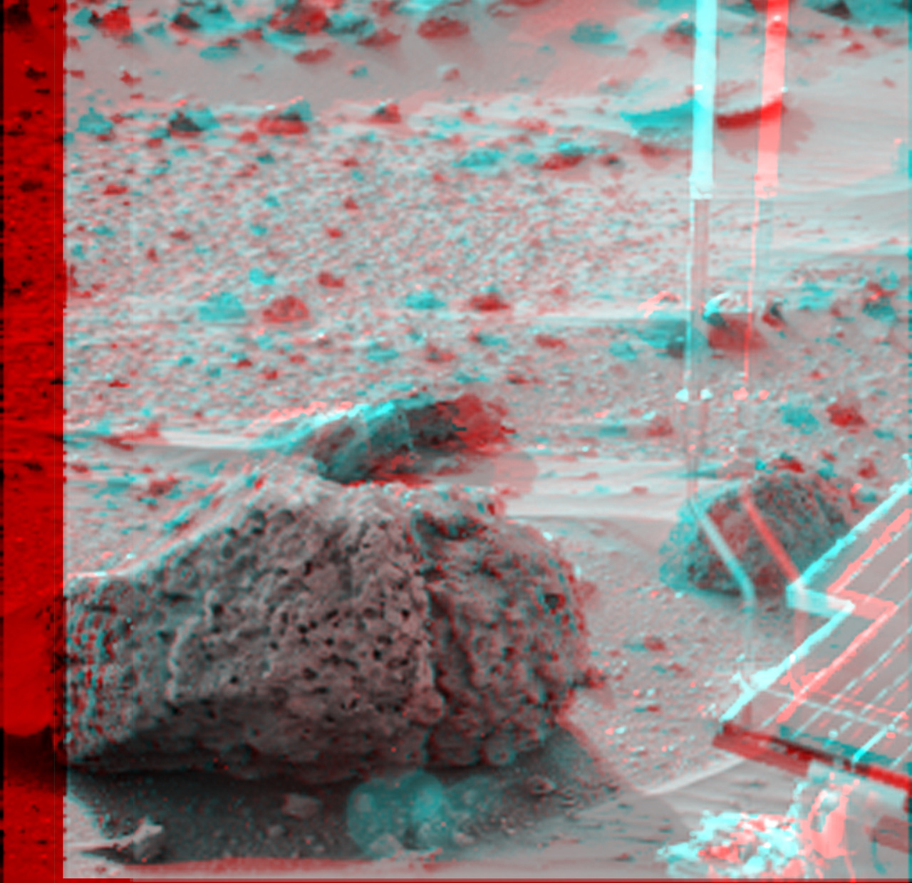 Pathfinder 3 D Anaglyph Stereo Image Archive