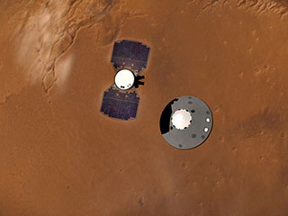 InSight Prepares to Enter Martian Atmosphere