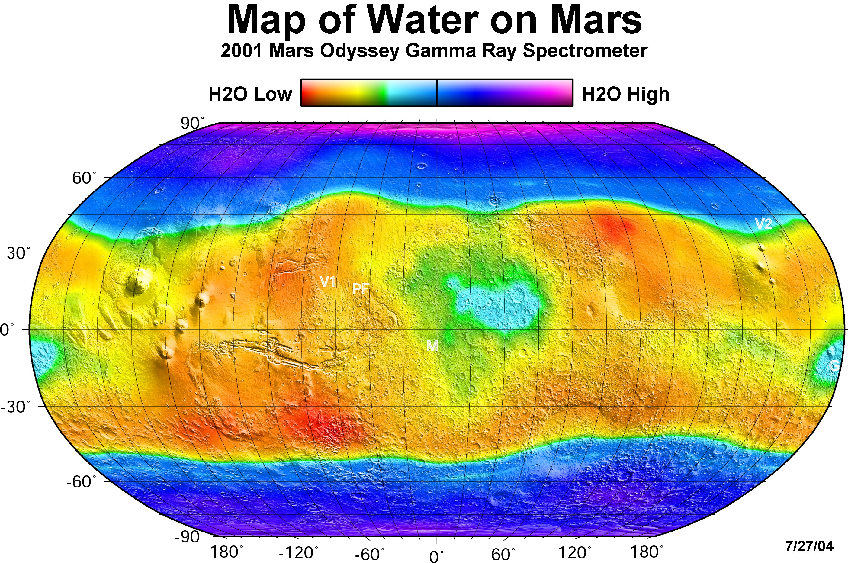 Martian Rocks May Have Absorbed All of The Red Planet's Water