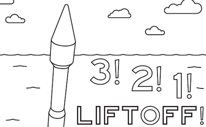 Click to download: ATLAS Launch Coloring Sheet