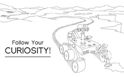 Click to download: Follow Your Curiosity Coloring Sheet