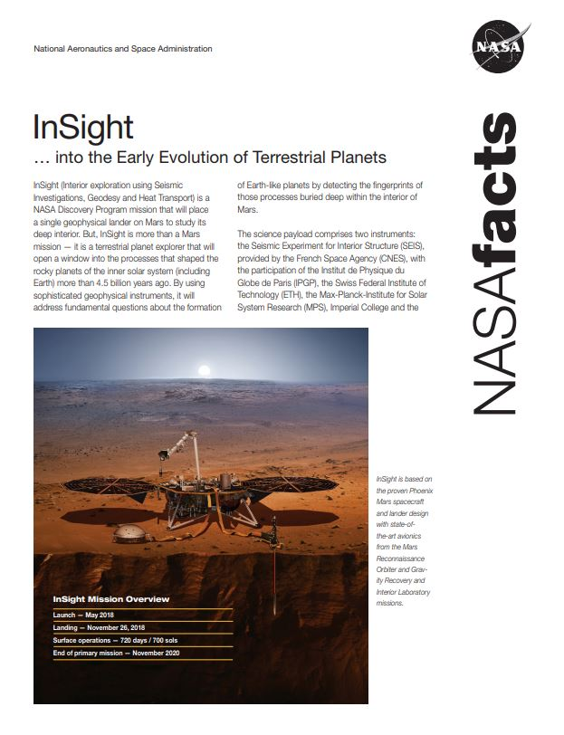 InSight Fact Sheet
