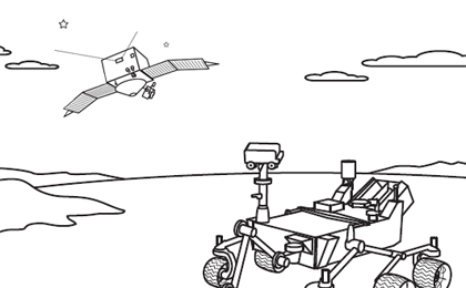 Click to download: MAVEN & MSL Coloring SHeet