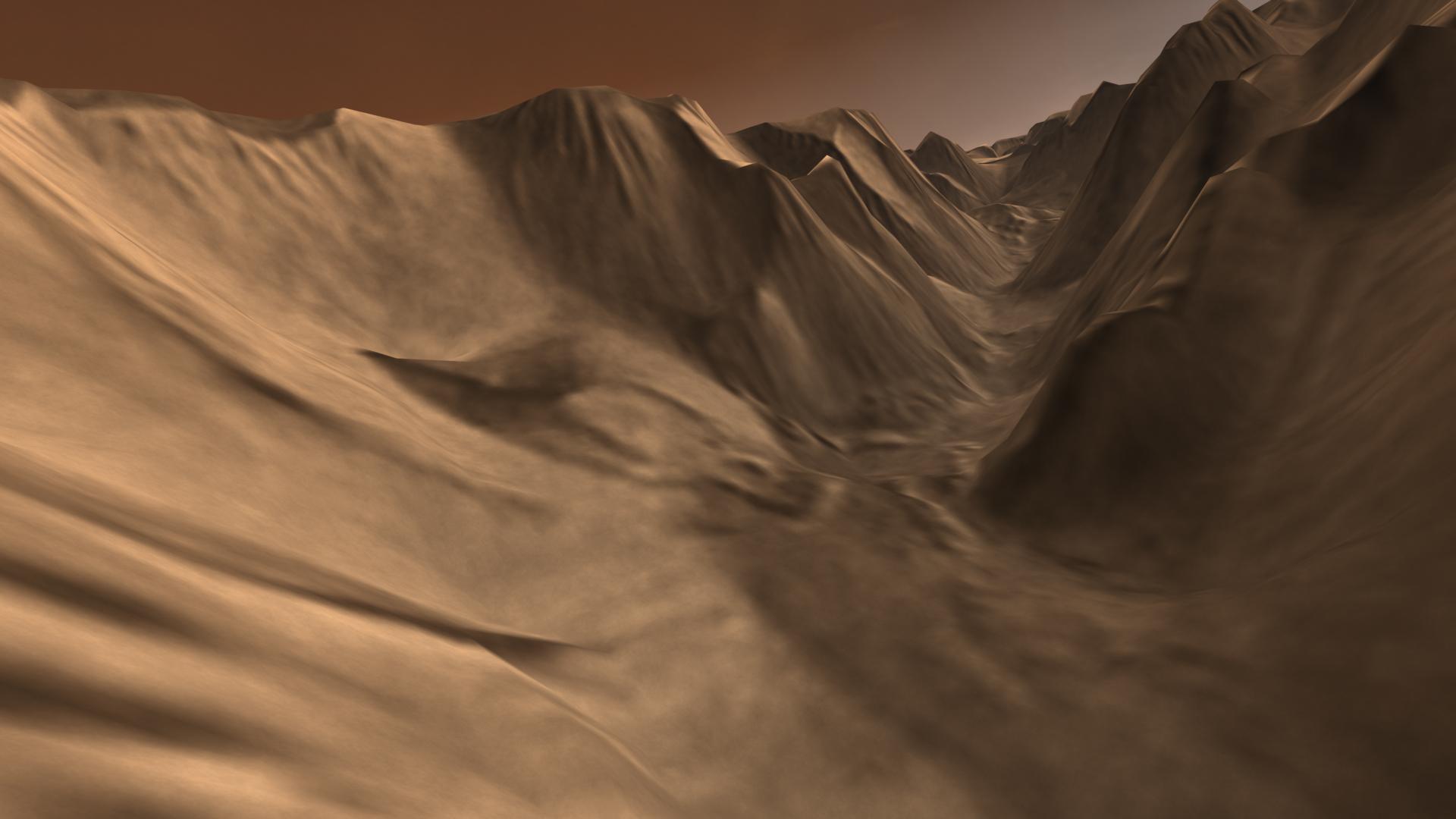 mars canyon nasa - photo #26