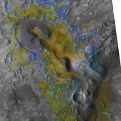 Context of Carbonate Rocks in Heavily Eroded Martian Terrain