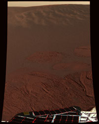 First color image from Opportunity
