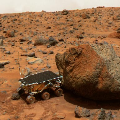 Mars Rover Is Still On - Pics about space