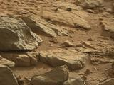 read the article 'Mars Rock Takes Unusual Form'