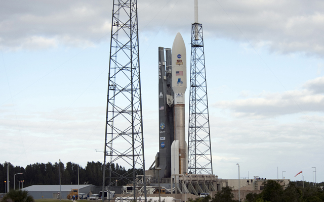 Curiosity Rover on the Launch Pad