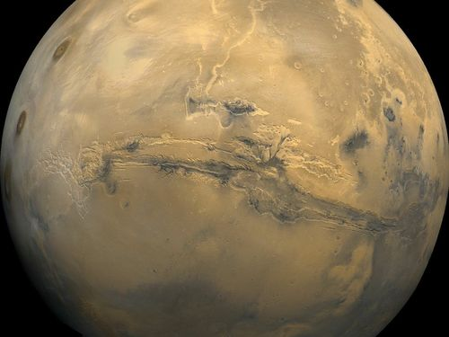 Mosaic of the Valles Marineris hemisphere of Mars .jpg