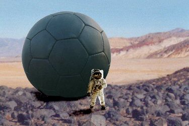 On Mars, a 6-meter diameter ball could be used for descent (replacing the parachute), landing (replacing the airbag), and mobility (wind-driven on surface).