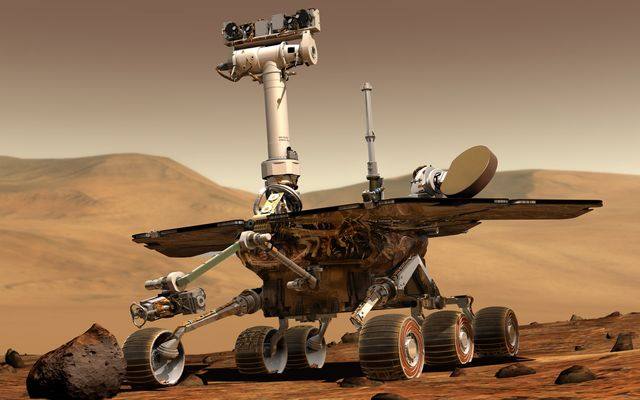 Spirit and Opportunity Rovers