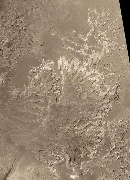 Delta-Like Fan On Mars Suggests Ancient Rivers Were Persistent