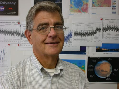 Dr. Pat Esposito, Lead Navigator for the Odyssey and Mars Global Surveyor orbiters.