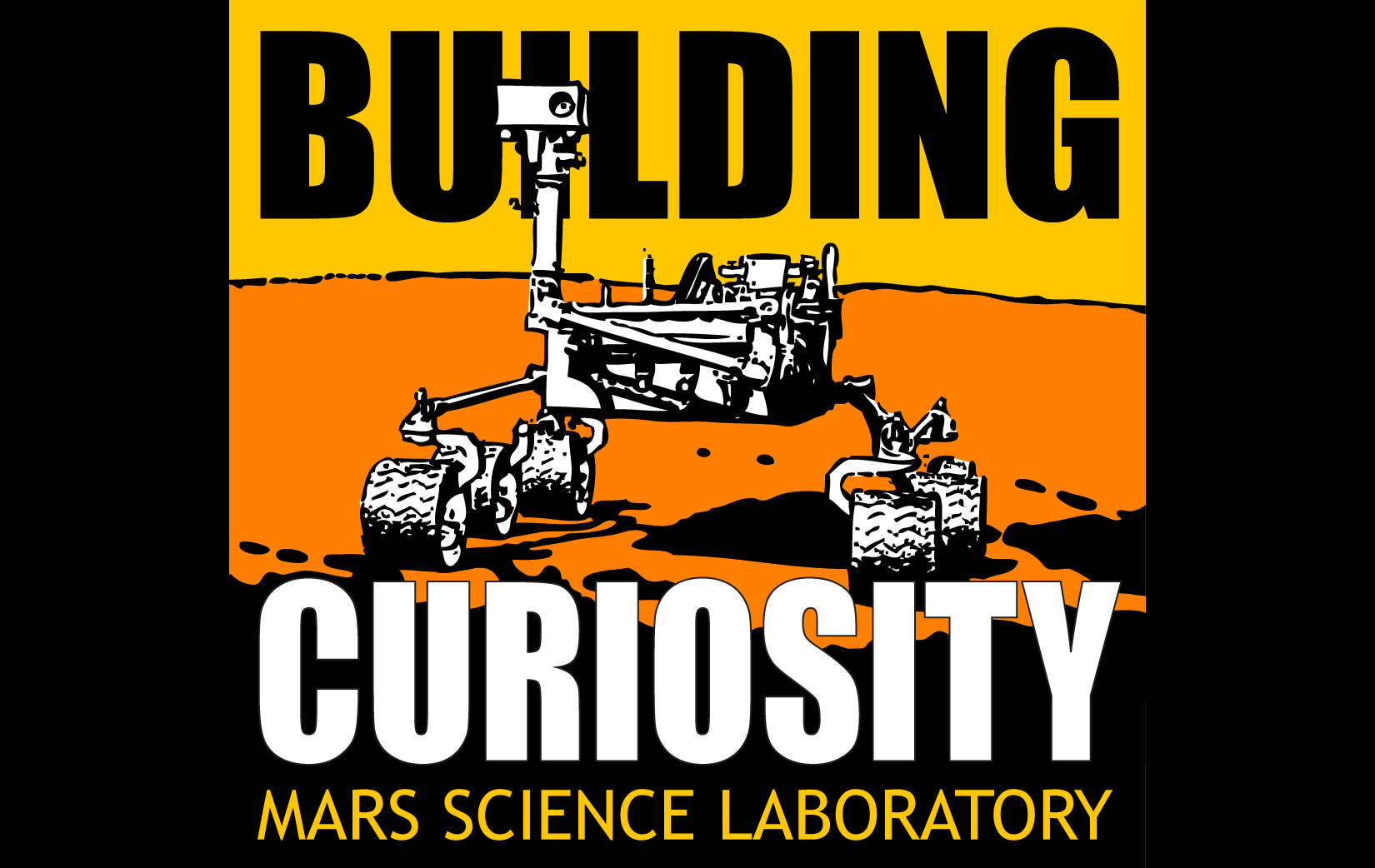 View video of building the Curiosity rover.