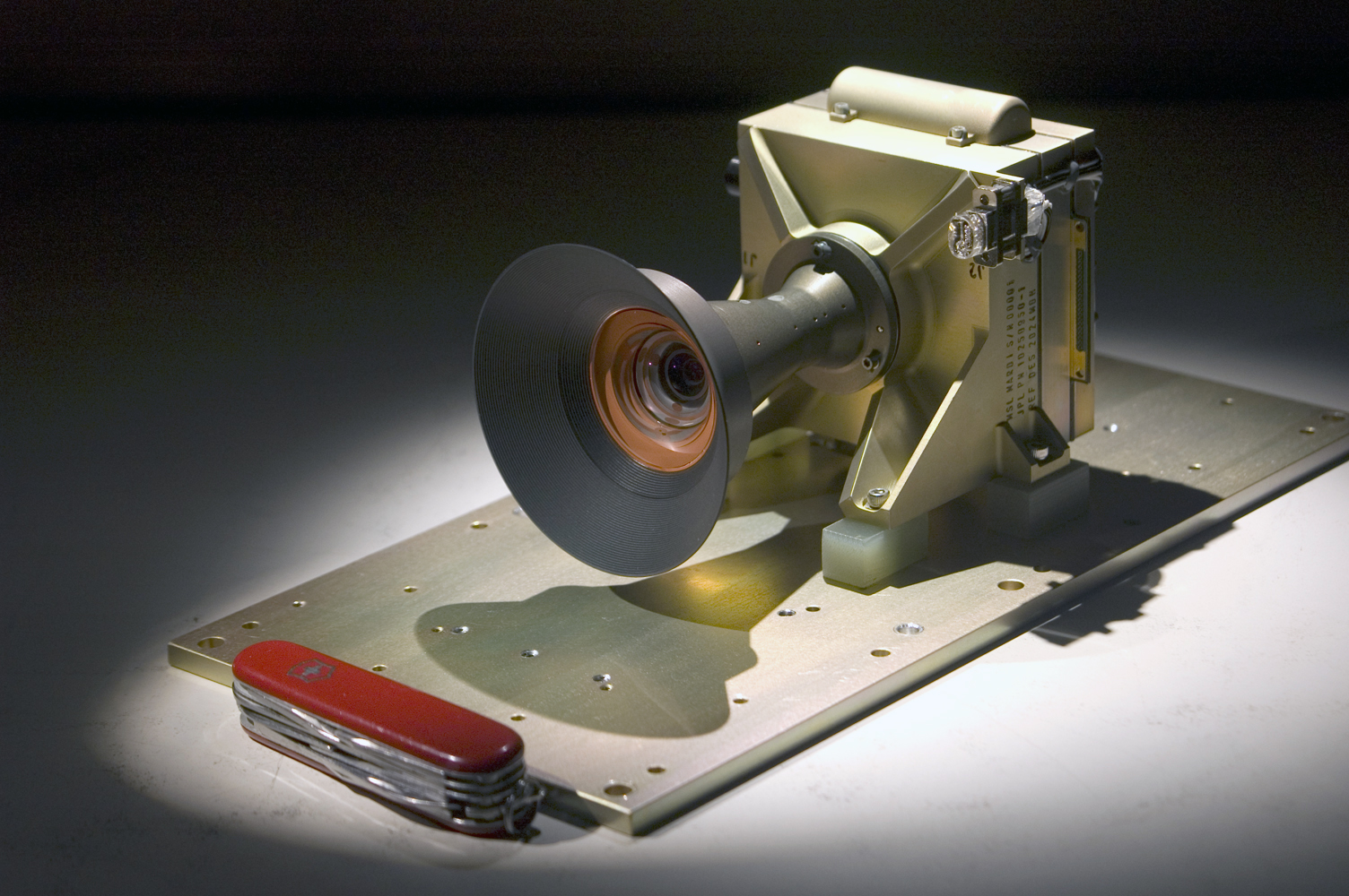 This Mars Descent Imager (MARDI) camera will fly on the Curiosity rover of NASA's Mars Science Laboratory mission.