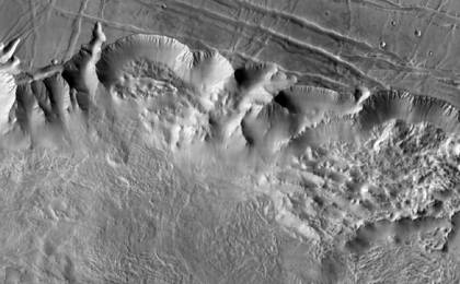 read the article 'Close View of Valles Marineris'