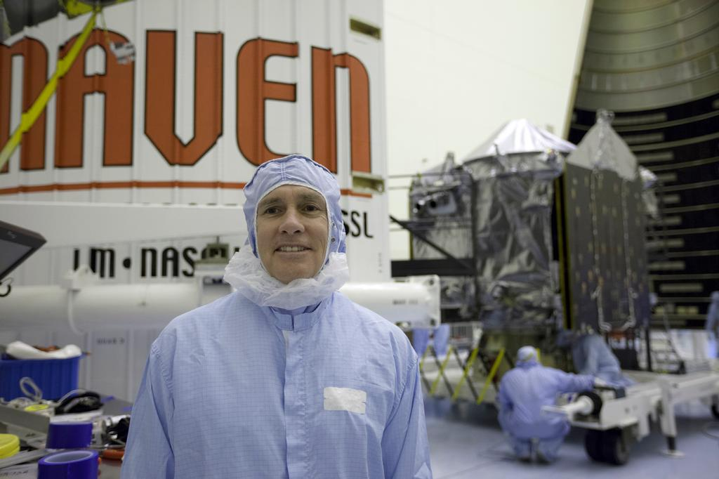 Chuck Tatro, MAVEN mission manager, Launch Services Program
