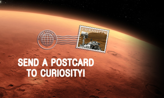 read the article 'Send a Postcard to Curiosity'