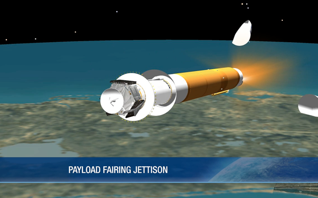 Jettison of the Payload Fairing