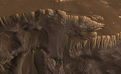 read the article 'Mars Canyon View'