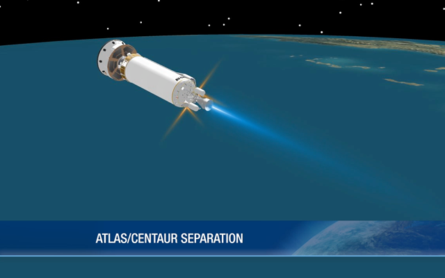 Atlas and Upper Stage Centaur Separation