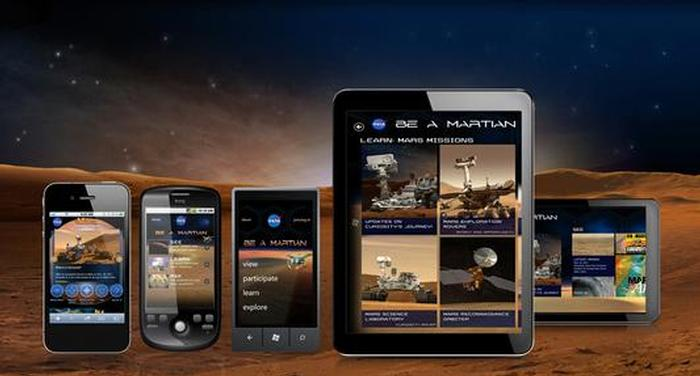 Tune in with Mars on the go. Download the Be A Martian App, on your Android, iPhone, Windows Phone and Tablets!