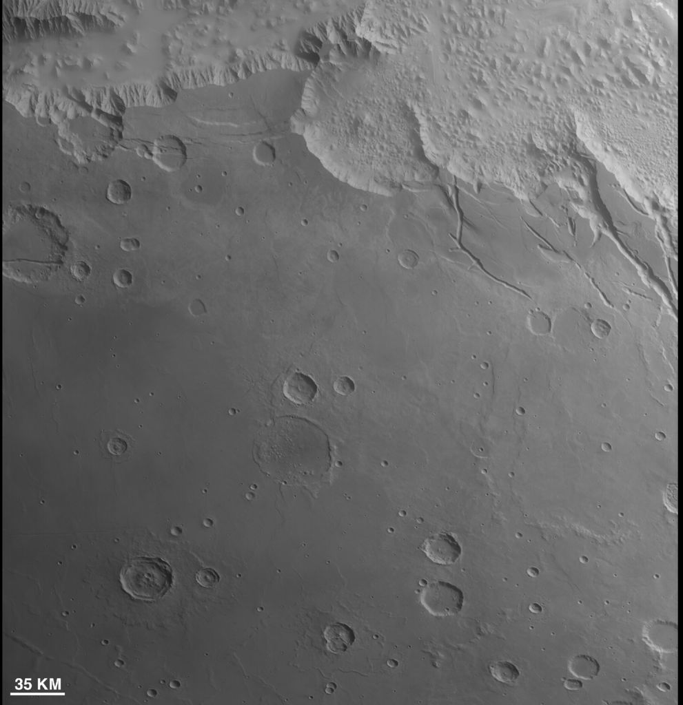 First Context Camera Image of Mars
