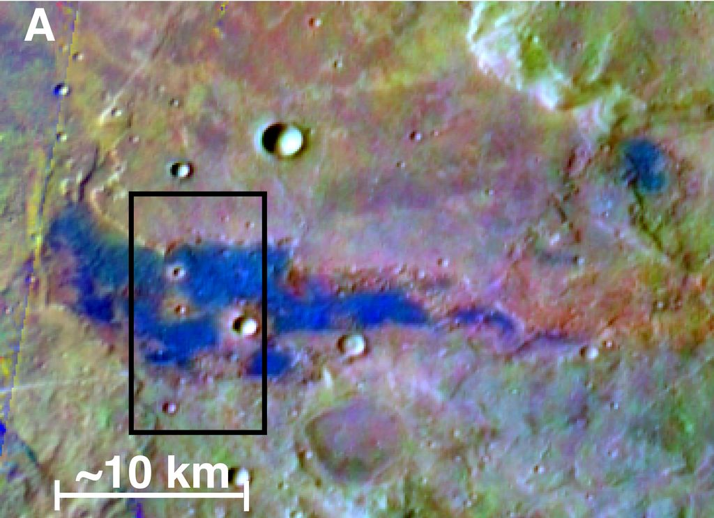 Chloride Salt Deposit in Southern Highlands of Mars