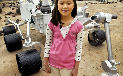 NASA Selects Student's Entry as New Mars Rover Name | Mars ...