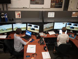 Glynis Perrett and Irina Pradler from APXS Operations Center in Guelph, Ontario, Canada working on Women's Curiosity Day