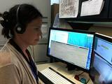 Jennifer Eigenbrode working on Women's Curiosity Day