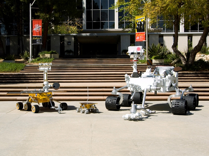 Newest is Biggest: Three Generations of NASA Mars Rovers