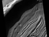read the article 'New Martian Views From Orbiting Camera Show Diversity'